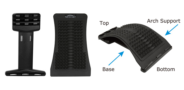 magic back support structure